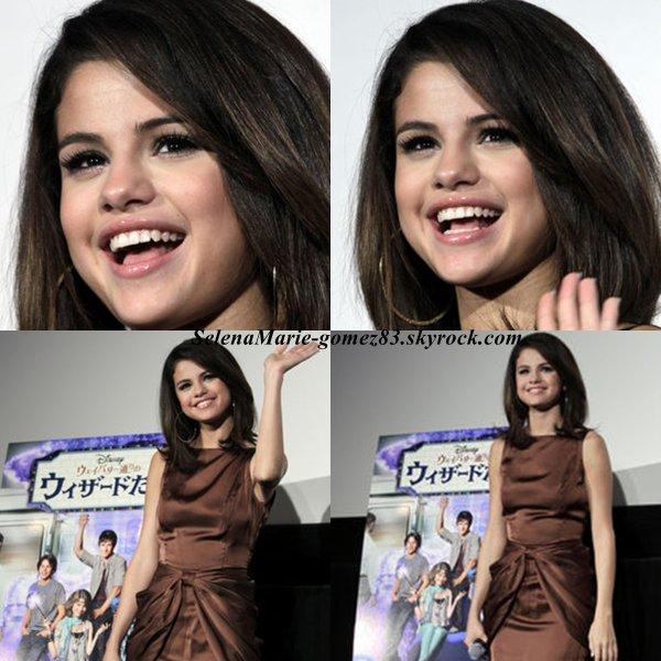 LE 21 FEVRIER 2011 ♥ Tokyo  : Selena a donnée aujourd'hui, une petite conférence en compagnie de ses fans à Tokyo. J'ai ajouté dans la galerie quelques photos HQ, d'autres viendront plus tard!