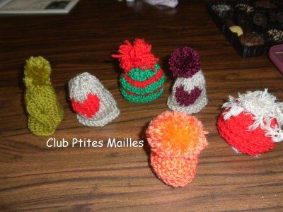 de nouveaux petits bonnets....