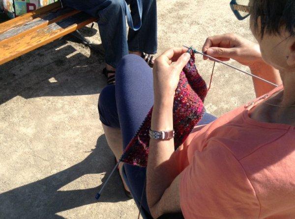 Journée mondiale du tricot 2014