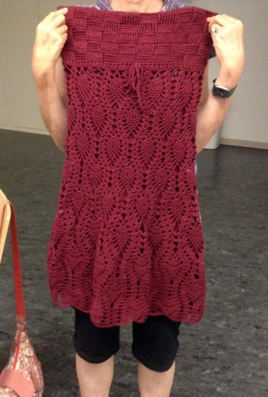Les créations des ptites mains du club de tricot et crochet