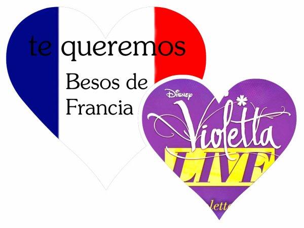 Projet Violetta Live !