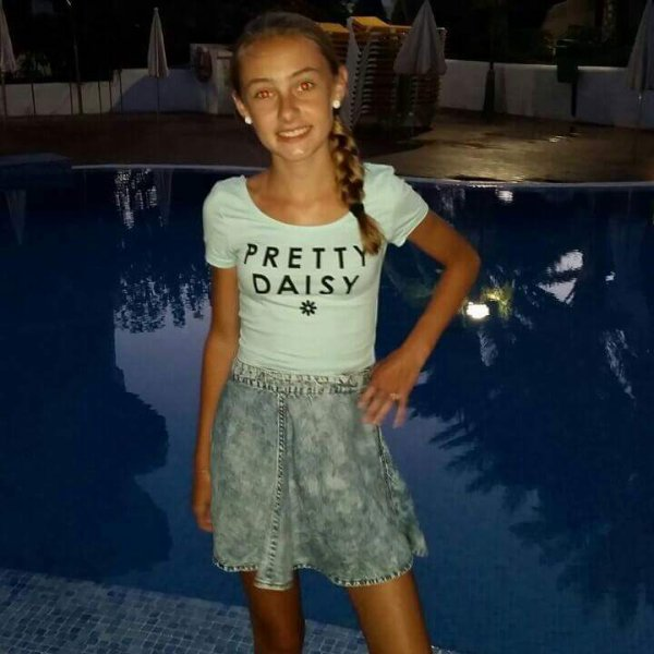 Me at 11 or 12 years old 🙃❤