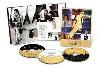 """Contenu du coffret DVD """"Vision"""" de Michael Jackson"""