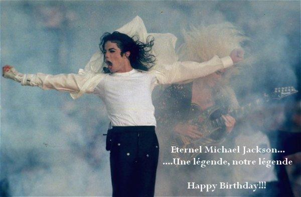 Michael aurait eu 55 ans!!!