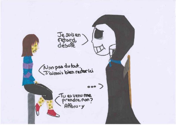 Et C Est Repartie Pour Des Dessin De Undertale Blog De Deamon13