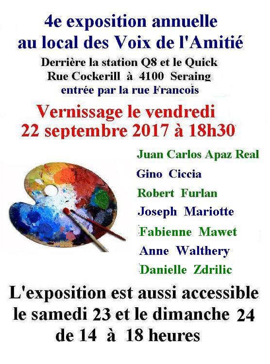 4e exposition annuelle aux Voix de l'Amitié