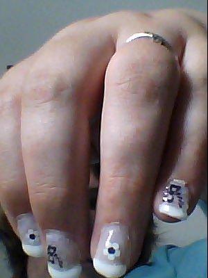 la manucure quont ma fait plus les deco sur les ongle