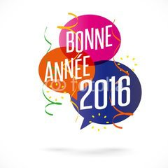 Bonne est heureuse année 2016