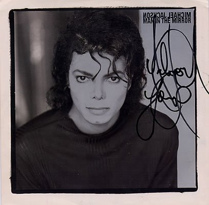 Michael Jackson (man in the mirror) album Bad