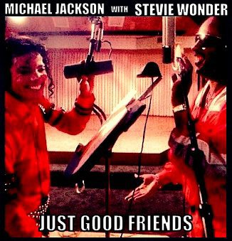 Michael Jackson (just good friends) album Bad
