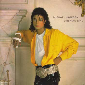 Michael Jackson (liberian girl) album Bad