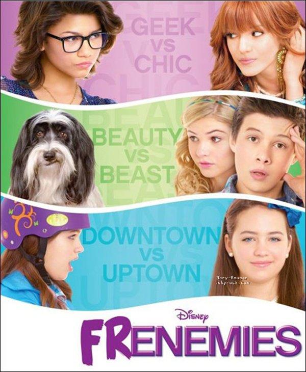 """.  L'affiche du film """"Frenemies"""" est enfin sorti + la premiere photo du photoshoot."""