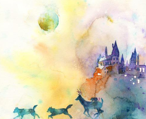 Padfoot, Moony, Wormtail and Prongs