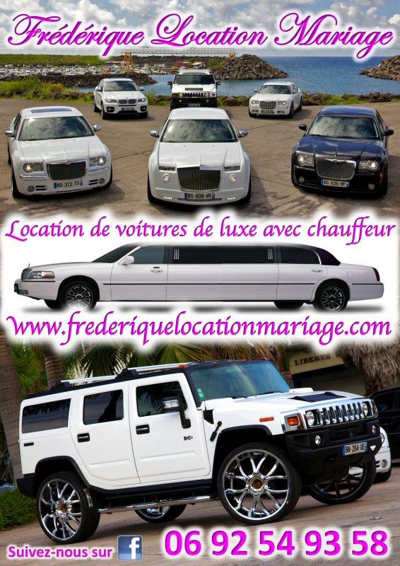 Limousine 974 by Frédérique Location Mariage à la Réunion  0692 549 358