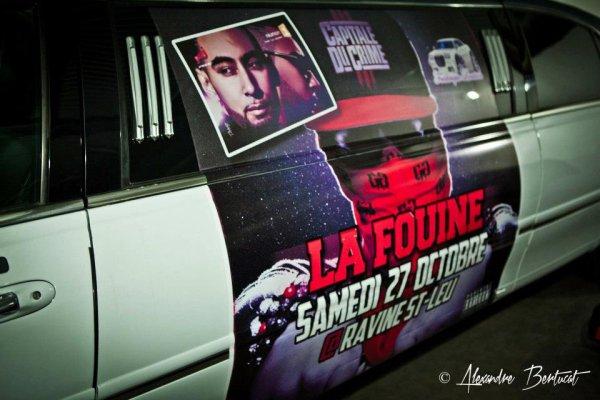 La Fouine ROULE EN HUMMER LIMOUSINE BY FREDERIQUE LOCATION 0692 54 93 58