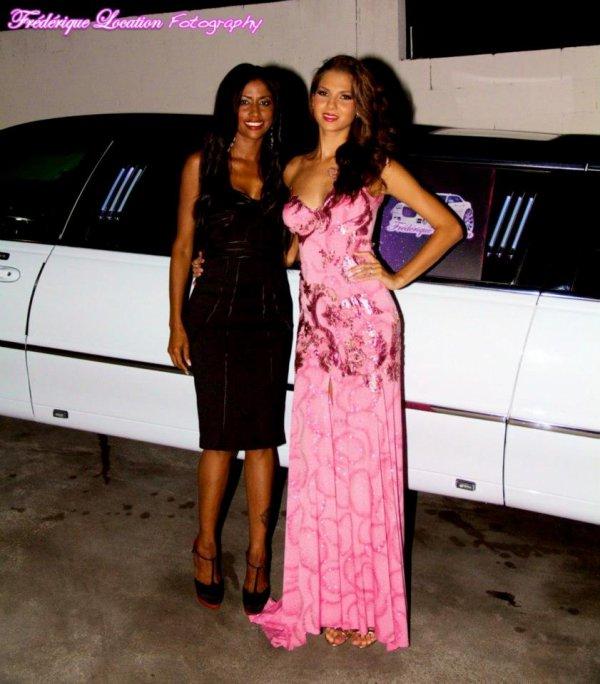 Miss Reunion 2011, miss france , Miss Univers MARIE PAYET et SHIRLEY avec location voiture de prestige à la reunion LIMOUSINE .HUMMER