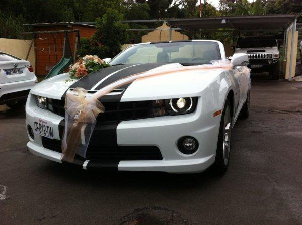 Cabriolet CAMARO LOCATION MARIAGES REUNION 0692 5493 58