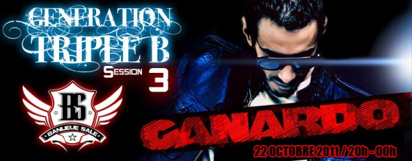 Génération Triple B session 3 / 22 octobre / 20H / Saint-Denis