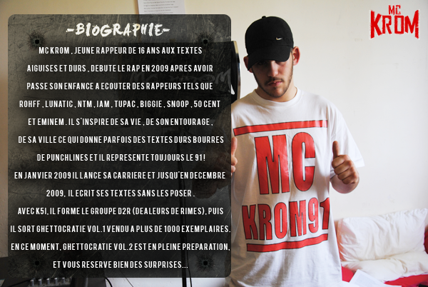 Biographie MC KROM