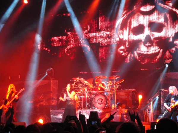 Nightwish dans un Hallenstadium presque au complet