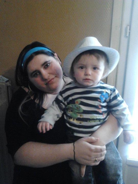moi et mon filleul juju