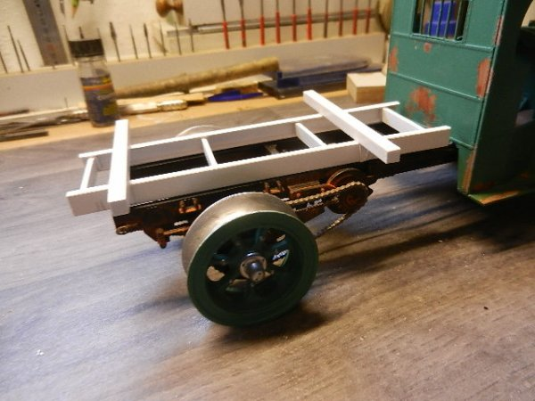 mack ac faux chassis plus chassis remorque