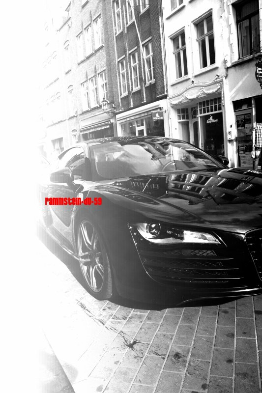 petite Audi R8 vue a Bruges