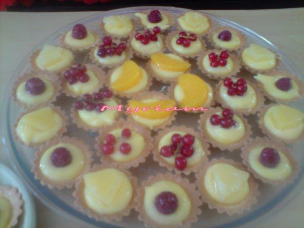 #2 Petites tartelettes aux fruits