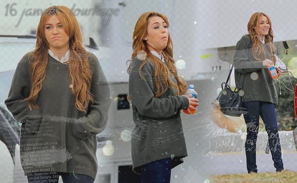 ____  (2011) Miley ,très expressive et excitée, sur le tournage de So Undercover à la Nouvelle-Orléans . ____   Top/flop?