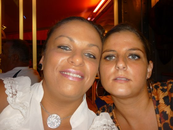moi et ma cousine o resto !!!