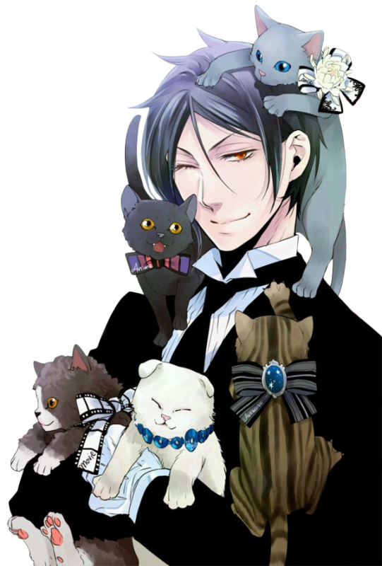 On m'a donner Sebastian Michaelis, Merci !