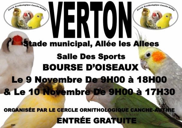 Bourse D'oiseaux à Verton