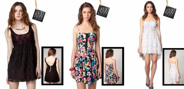 Ma sélection de robes