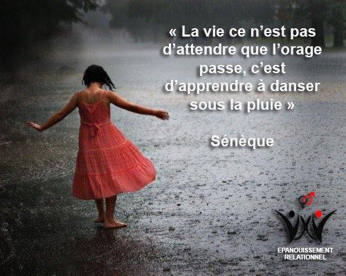Danse avec la pluie