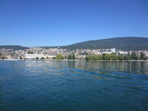 belle journée chaude les 3 lacs morat neuchatel bienne