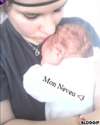 Mon Neveu (Luckas) &é Moi  ( Stééphanie) <3