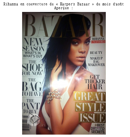 Article 15 On Magazines-the-stars - Rihanna News