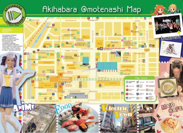 Visite d'Akihabara 100 % pour les otakus