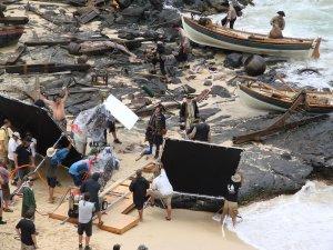 Le tournage de Pirates des Caraibes 4