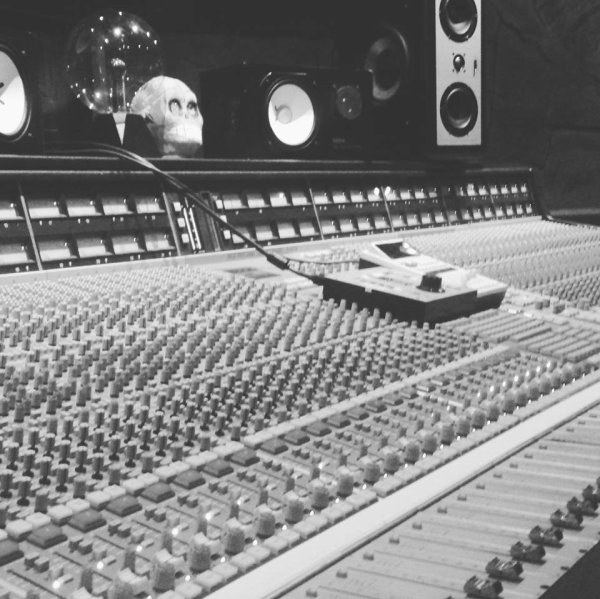 Session d'enregistrement à Londres