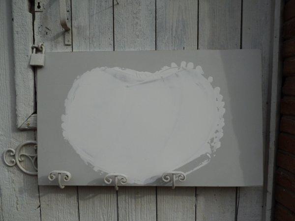 Détail de la planche coeur