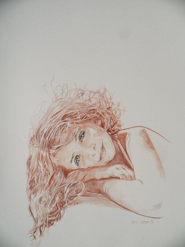 Retour au portrait de Léna.