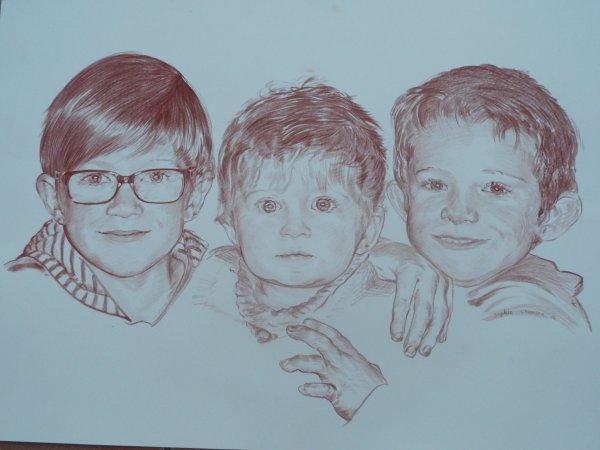 Les trois frangins: pour mes Amis Jacky et Serge