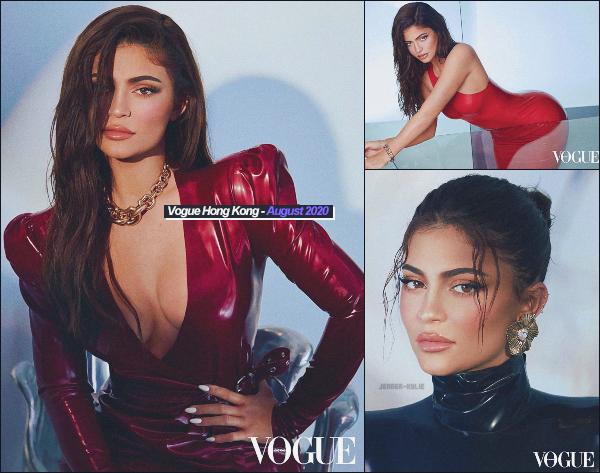 -  VOGUE HONG KONG ●- Voici la couverture et les clichés où  Kylie Jenner  apparaît (édition aout 2020) ! -