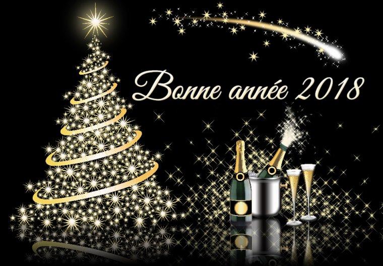 Bon réveillon et bonne et heureuse année 2018
