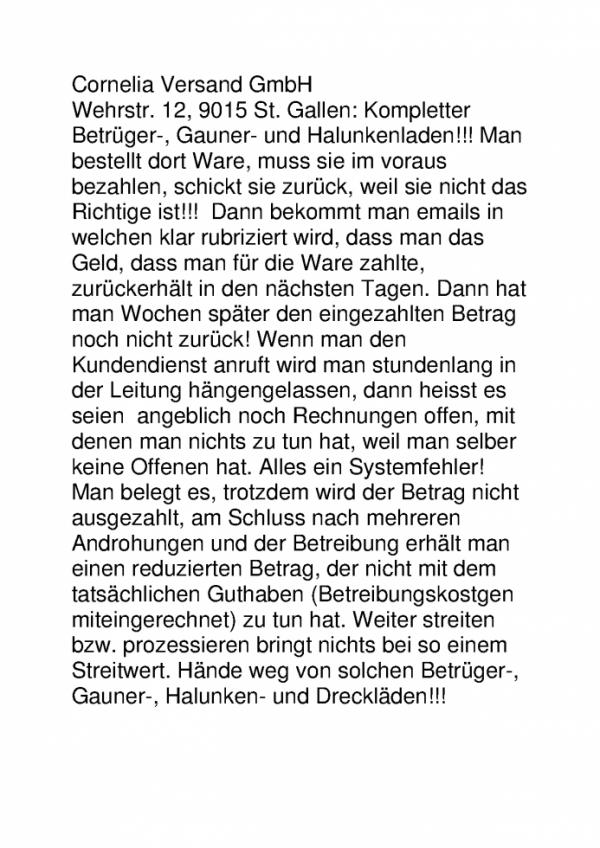 Dreckiger Gauner- und Halunkenladen!!! Hände weg davon!!!