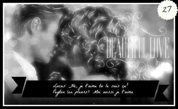 ♥ Moment favori n°27 ♥ Avant le mariage de Nathan et Haley, Peyton se rend compte qu'elle est amoureuse de Lucas... // I slept with someone in fall out (Faute avouée) ep21s03