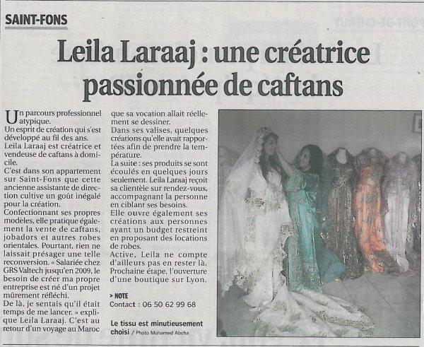 """Article """"Le Progrès"""" du 22 Août 2010"""