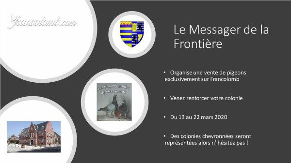 vente le Messager de la Frontière