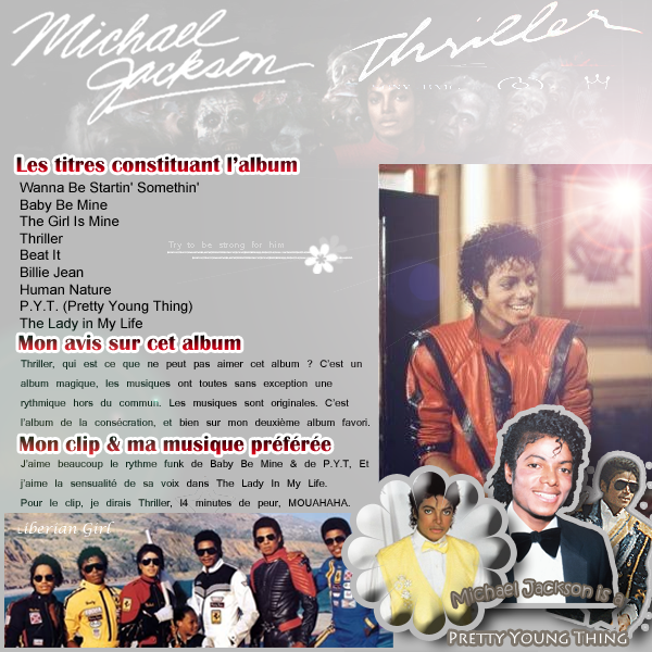 || Album Thriller.« Before you judge me, try hard to love me, look within your heart then ask »Michael Jackson, Childhood, HIStory, I995